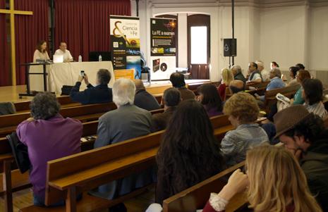"""Presentación de """"La fe a examen"""" en Madrid"""