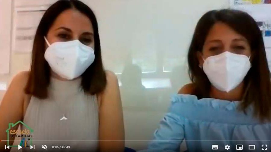 """VÍDEO: Taller de ESCUELA DE FAMILIAS con... Patricia García de Soria y Mª Ángeles: """"Acompañando en la retirada del pañal"""""""