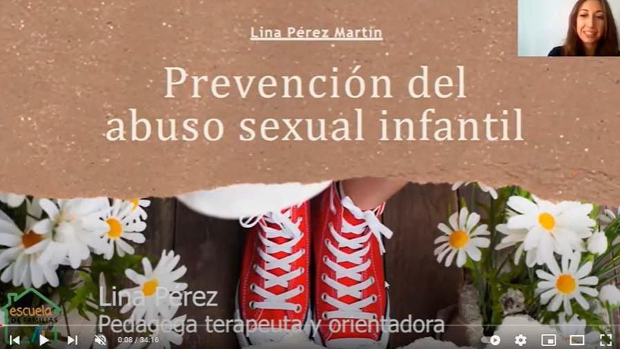 """VÍDEO: Taller de ESCUELA DE FAMILIAS con... Lina Pérez: """"Prevención del abuso sexual infantil"""""""