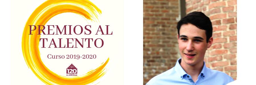 Beca al talento concedida para el cruso 2019-2020