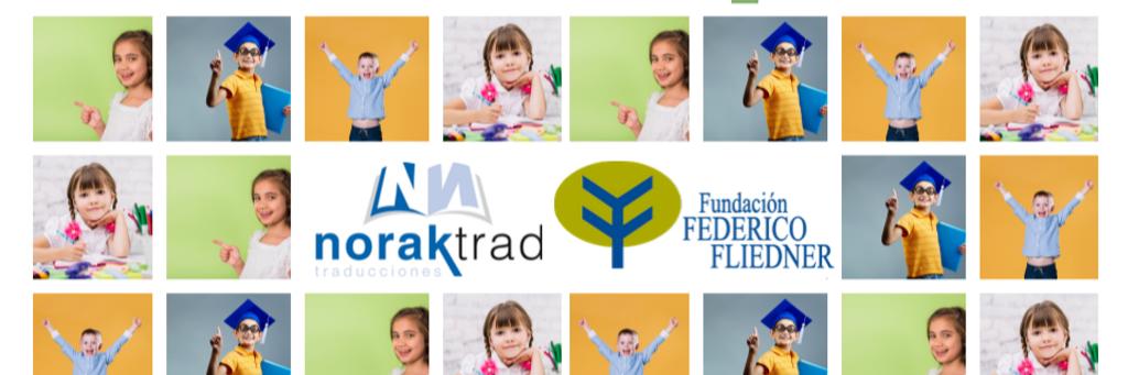 La empresa NORAK hace un donativo para apoyar el proyecto de las Becas Fliedner