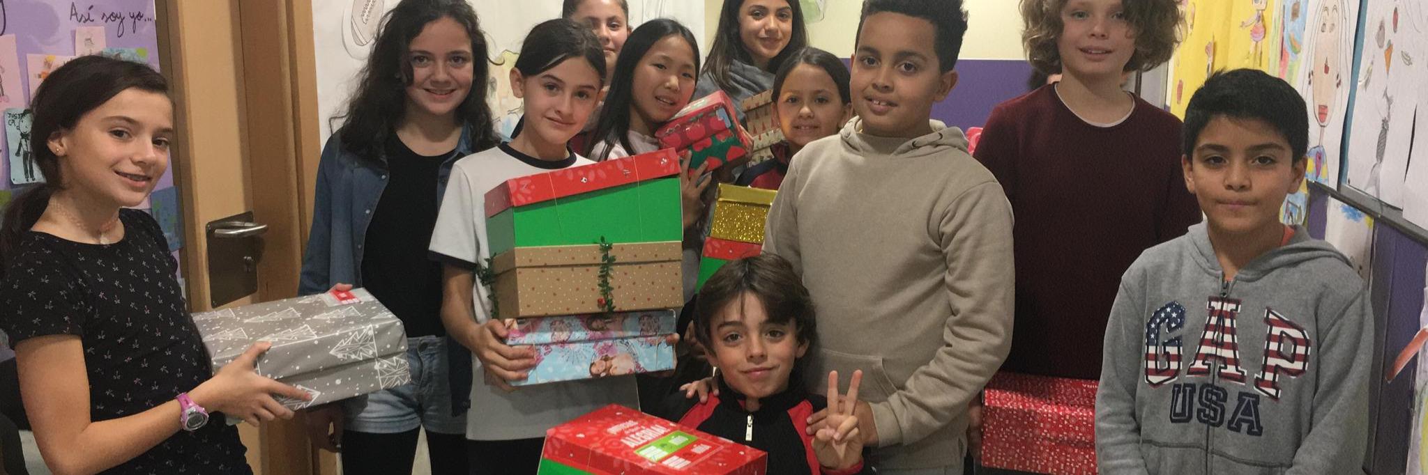 Muchas gracias: ¡¡hemos conseguido 535 cajas para Operación Niño de la Navidad!!