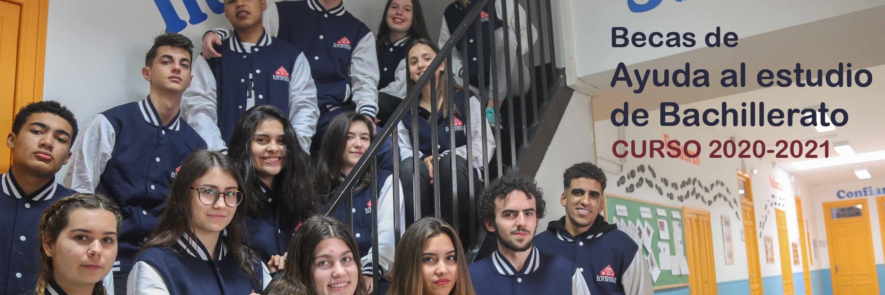 Beca de Ayuda al estudio de Bachillerato (curso 2020-2021)