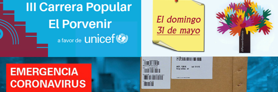 ¡¡Tendremos III Carrera Popular El Porvenir a favor de UNICEF el 31 de mayo!!