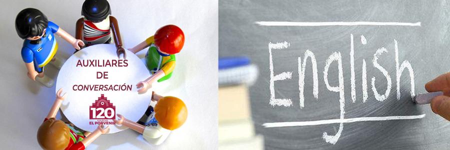 Auxiliares de conversación 2020-2021 para Ed. Infantil, Primaria y Secundaria