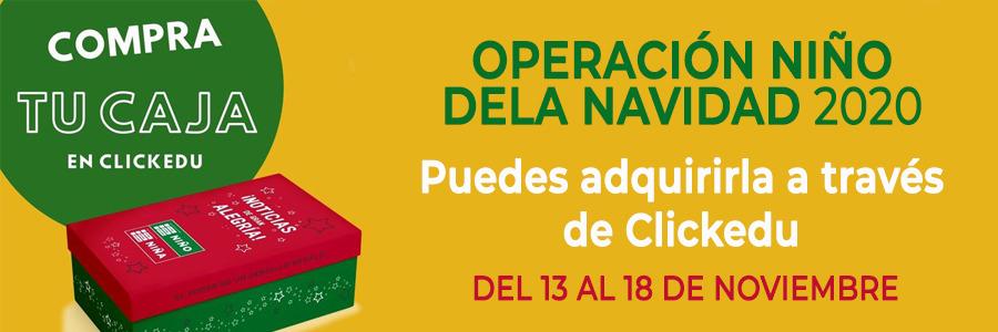 ¡No te quedes sin tu caja de Operación Niño de la Navidad!