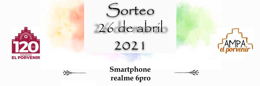 #PorNuestroFuturo - Sorteo de Smatphone Realme 6 PRO