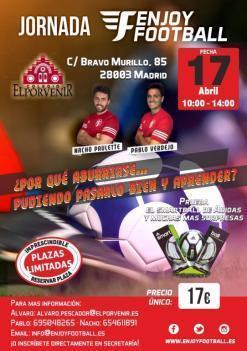 Jornada ENJOYFOOTBALL - 17 de Abril