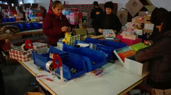 Centro de procesos Operación Niño de la Navidad 2016