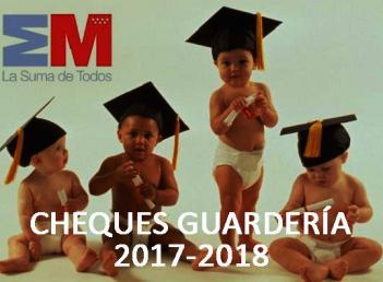 CHEQUES EDUCACIÓN INFANTIL: Convocatorias de becas de 1º ciclo de Educación Infantil 2017-2018