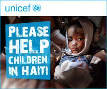 Campaña solidaria - 1 € Unicef - Ayuda a Haití