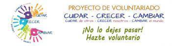 Proyecto de voluntariado - CUIDAR-CRECER-CAMBIAR