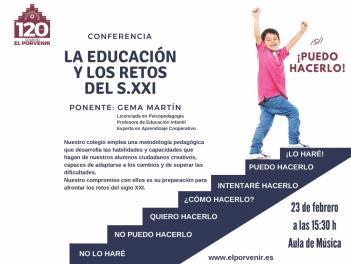 Conferencia: La Educación y los Retos del Siglo XXI