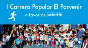 Hacemos la transferencia a Unicef del dinero recaudado (1.522,87 Euros) en la I Carrera Popular El Porvenir 2018