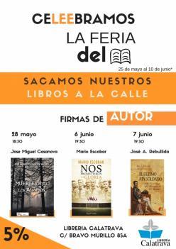 La Librería Calatrava celebra la Feria del Libro
