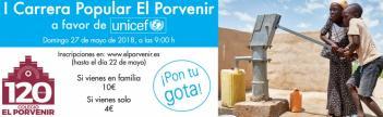 I Carrera Popular del colegio El Porvenir - Mesa de inscripción