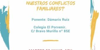 """Academia de Familia - """"Taller - ¿utilizamos buenas herramientas en nuestros conflictos familiares?"""""""