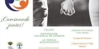"""Taller """"Prevención de violencia de género: La pareja adolescente"""""""