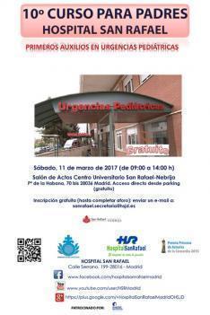 """Invitación al Curso """"Primeros Auxilios en Urgencias Pediátricas"""""""