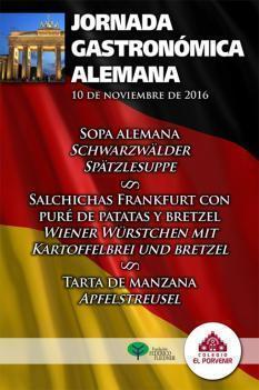 Hemos disfrutado de una Jornada Gastronómica Alemana en El Porvenir