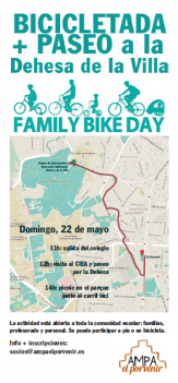 FAMILY BIKE DAY - 22 de mayo