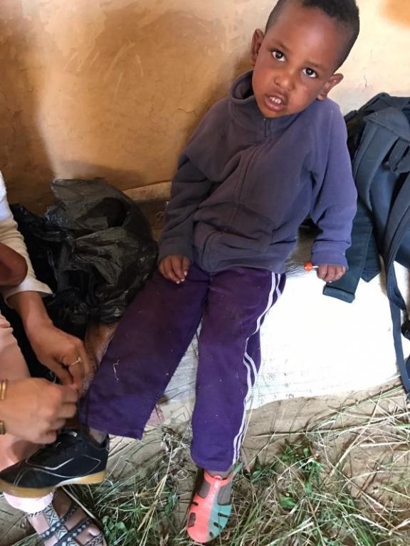 Entrega Etiopía