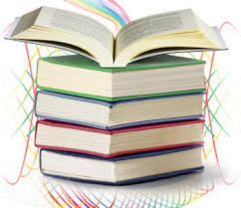 Bancos de chándales y libros de la AMPA