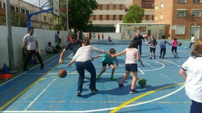 Baloncesto Primaria colegio El Porvenir