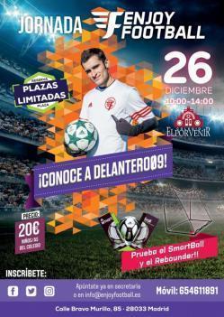 26 de diciembre: Jornada Enjoy Football en El Porvenir