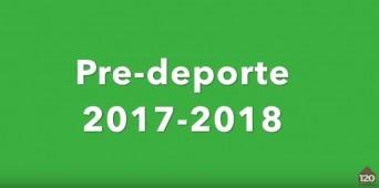 Vídeo de pre-deporte en El Porvenir (curso 2017-2018)