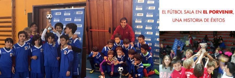El fútbol sala en El Porvenir, una historia de éxitos