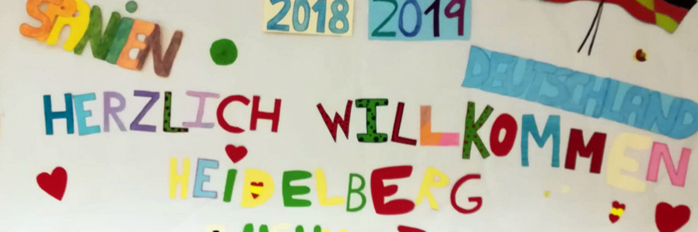 Nuestros alumnos de 3º de E.S.O. dan la bienvenida a los intercambios de Alemania