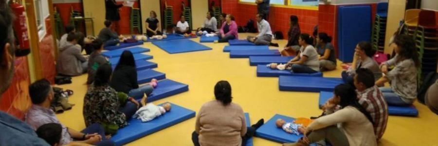 Academia de Familias: Primer taller en el colegio Juan de Valdés