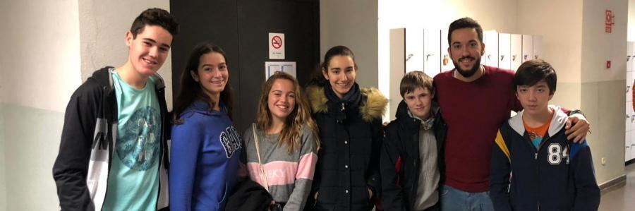 Seis alumnos de nuestro colegio se presentaron al Concurso Intercentros de Matemáticas Joaquín Hernández.