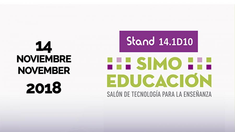 El Colegio Juan de Valdés participa el miércoles 14 de Noviembre SIMO EDUCACIÓN 2018