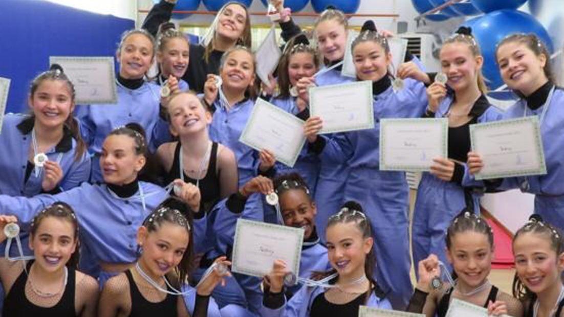 Nuestro grupo Yeidivy Kids en el Campeonato Alodia de Danza Urbana