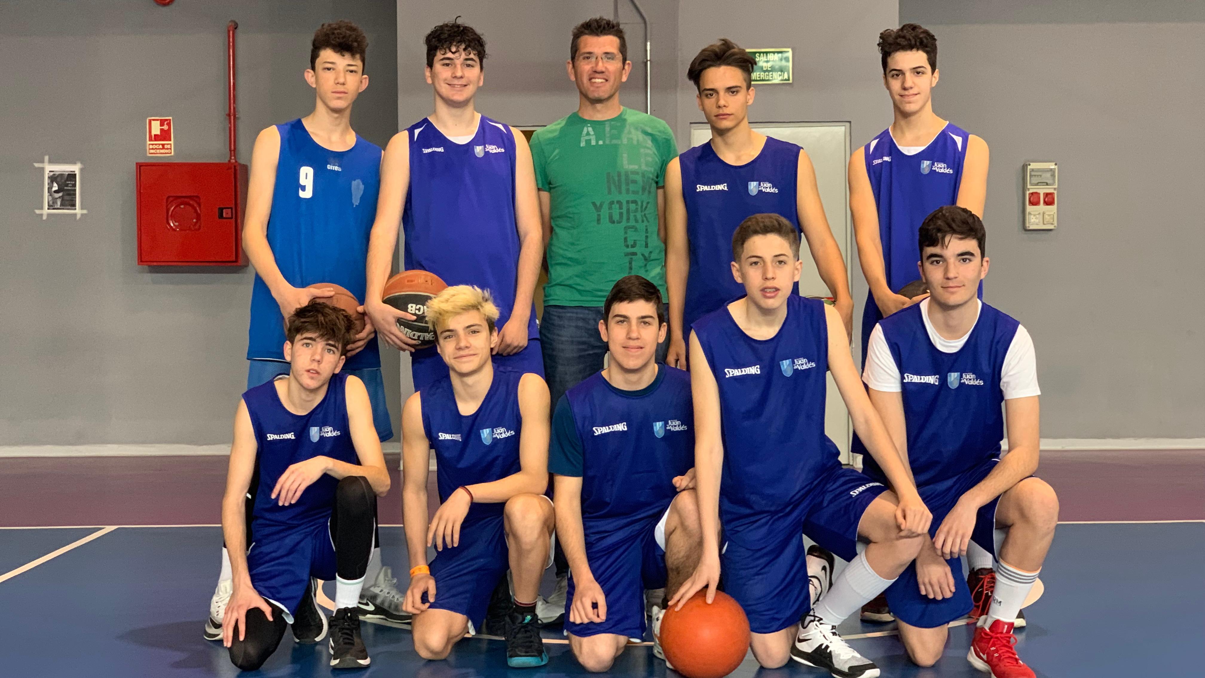 El Equipo de Basket cadete de nuestro Colegio se ha proclamado Campeón de Distrito