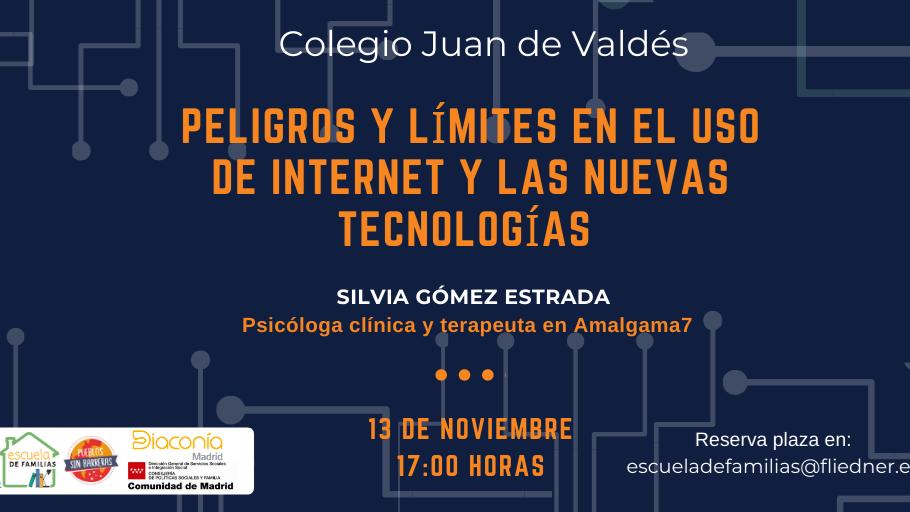 """""""Peligros y límites en el uso de internet y las nuevas tecnologías"""", próximo taller de Escuela de Familias"""