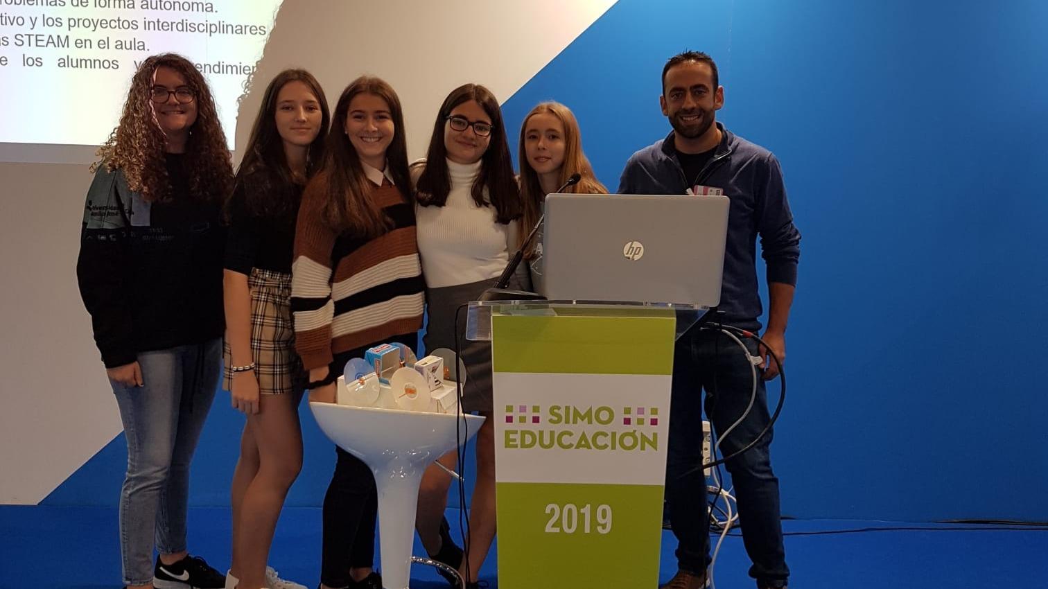 El Colegio Juan de Valdés presenta un proyecto innovador en SIMO Educación 2019
