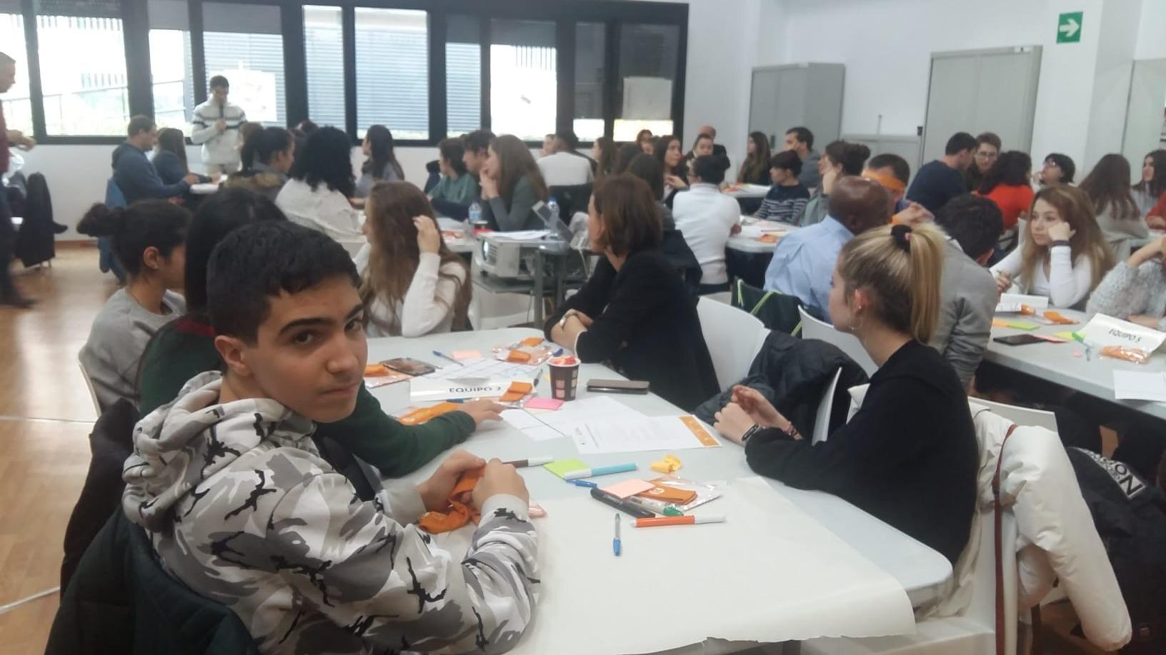 Nuestros alumnos de 4º de ESO participan en un campamento de emprendimiento, innovación y creatividad