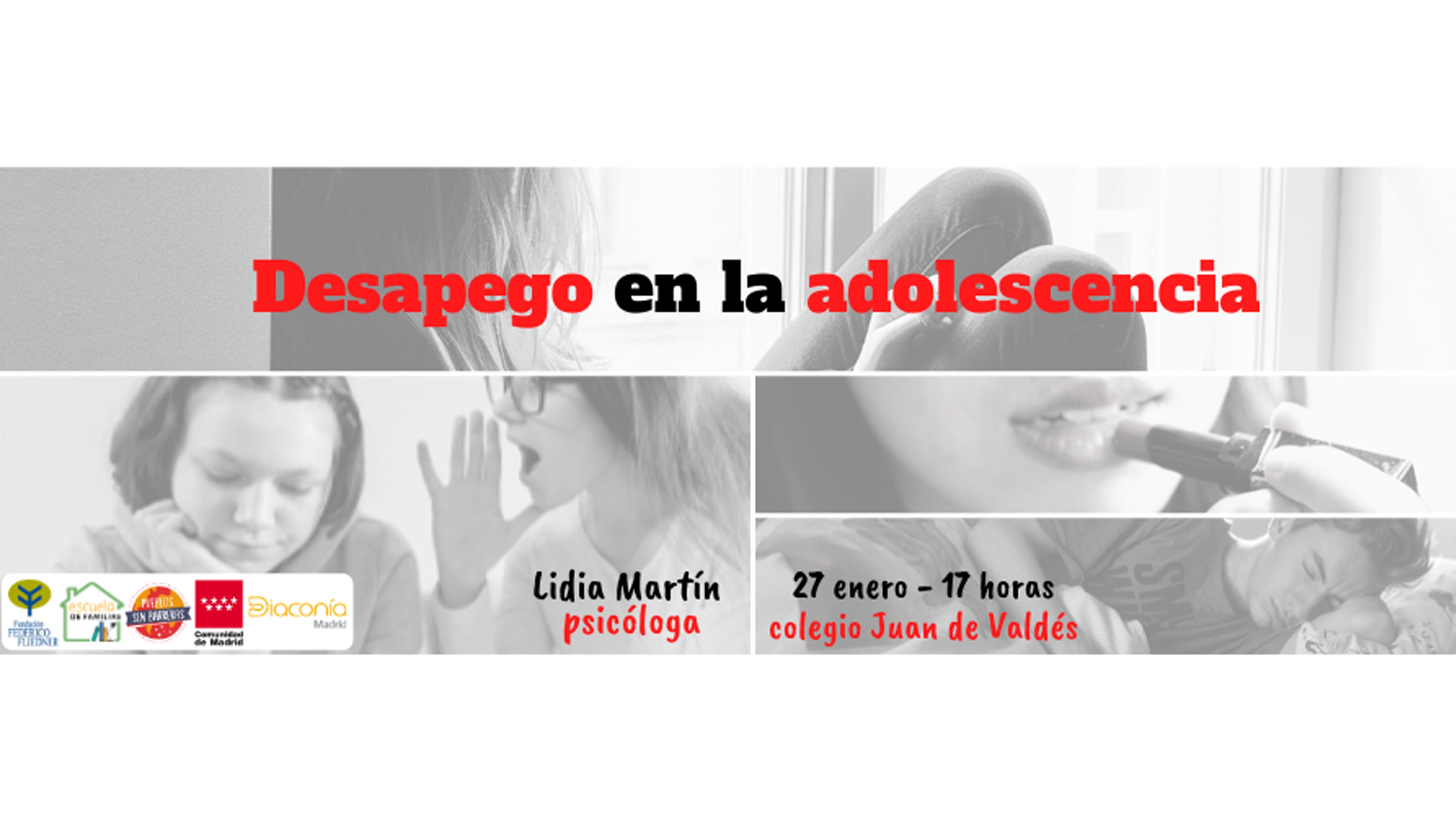 """Próxima Escuela de Familias: """"El desapego en la adolescencia"""""""