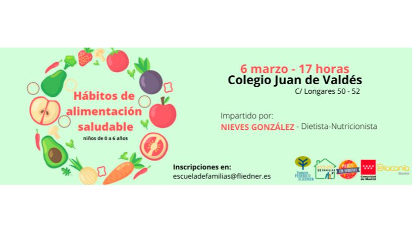 """Escuela de Familias celebra el taller """"Hábitos de alimentación saludable"""""""