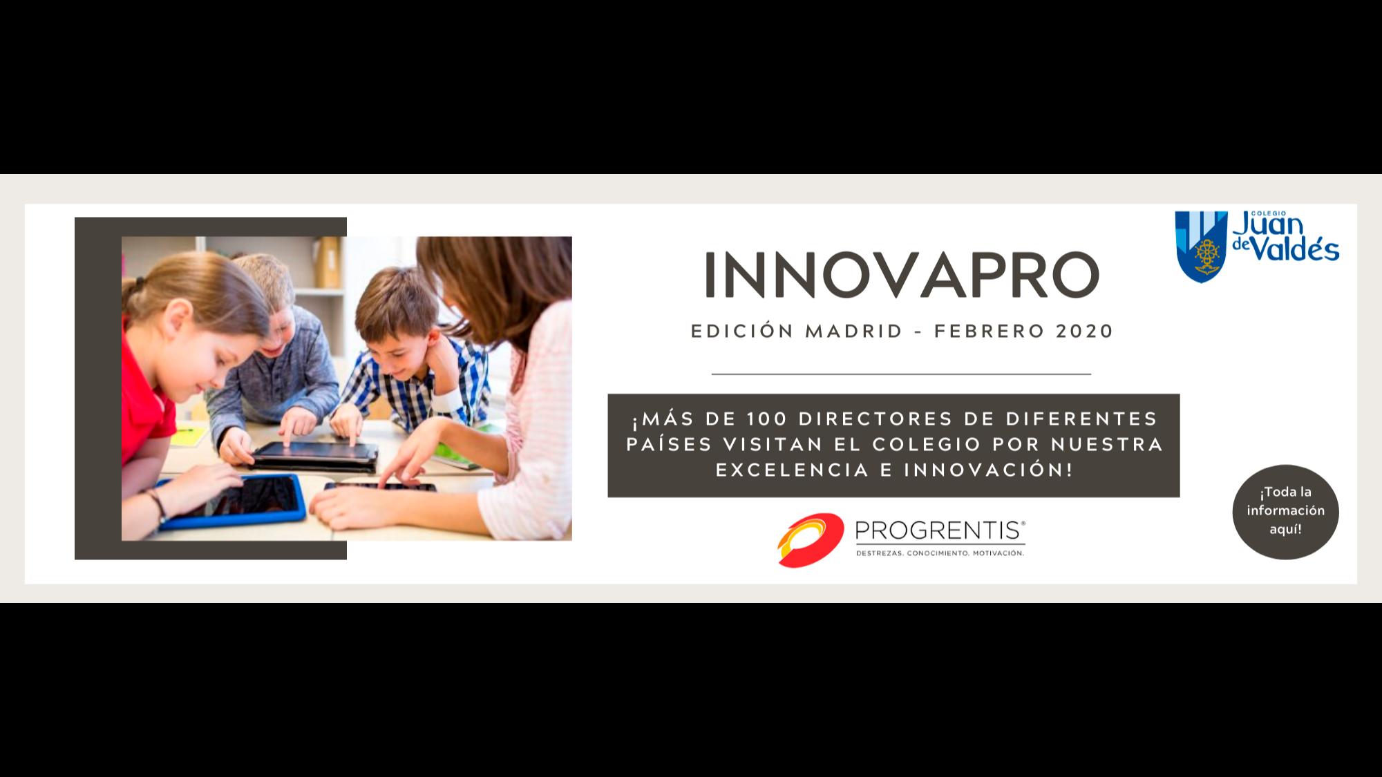 Progrentis: el Colegio Juan de Valdés en el primer innovaPRO del 2020