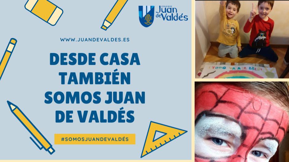 Desde casa también somos Juan de Valdés