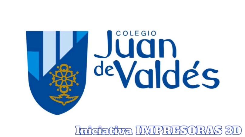 Iniciativa IMPRESORAS 3D en el Juan de Valdés