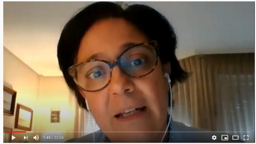"""Vídeo del taller online de Escuela de Familias: """"Las emociones de nuestros niños en tiempos de confinamiento"""""""