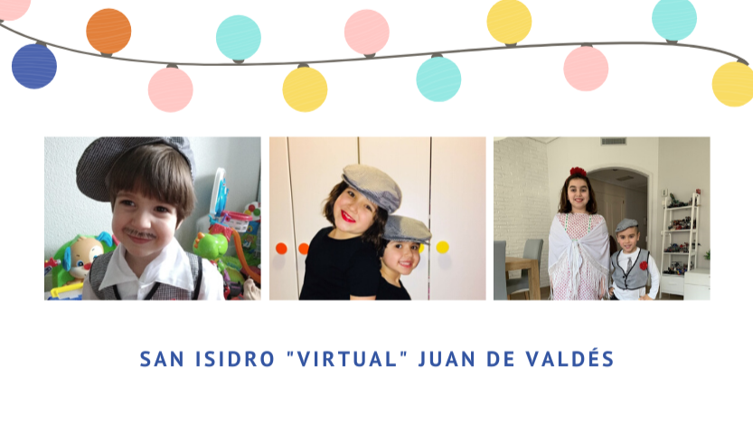 "San Isidro ""virtual"" del cole... ¡CHULAPOS Y CHULAPAS!"