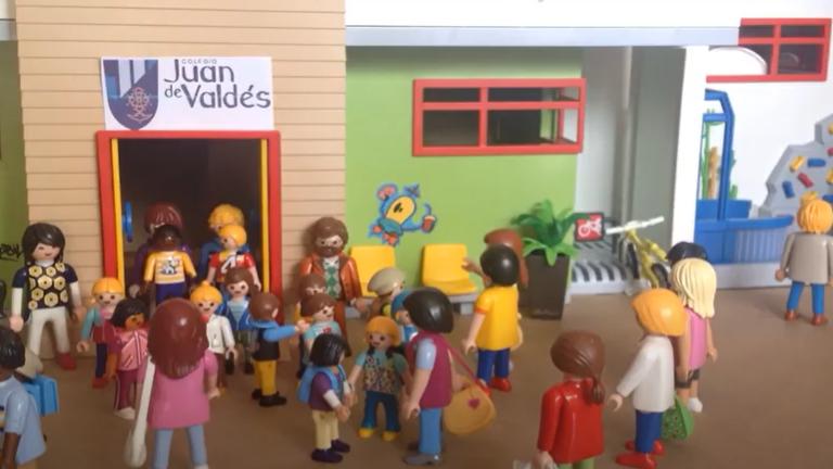 Vídeo - animación #YoMeQuedoEnCasa by las alumnas del cole Isabel y María Antón de los cursos 4A y 2C.