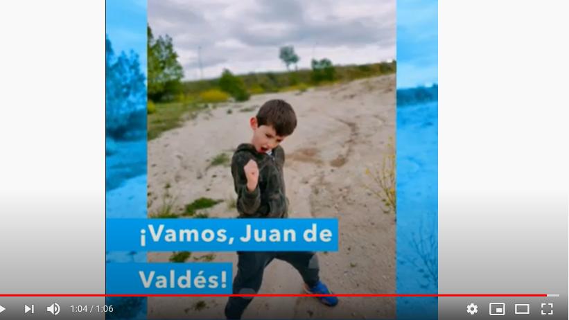 #SomosJuanDeValdés (peques de Segundo Ciclo de Infantil)