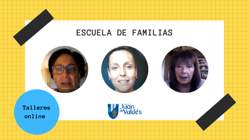Talleres online Escuela de Familias: disponibles en nuestra web y canal de Youtube ¡No te los pierdas!